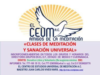 CLASES DE MEDITACIÓN GRUPOS GENERAL