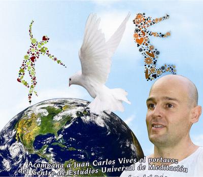 JUAN CARLOS VIVES IVARS, FUNDADOR DE EL CENTRO DE ESTUDIOS UNIVERSAL DE MEDITACIÓN Y AUTOR DE EL LIBRO CAMINANDO CON EL MAESTRO.