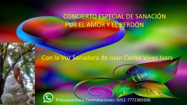 CONCIERTOS DE SANACIÓN GENERAL.