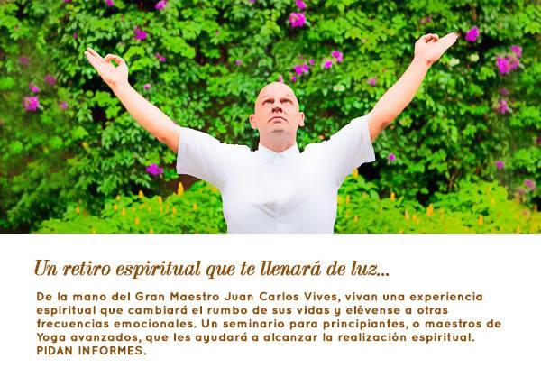 retiro espiritual con Juan Carlos Vives Ivars