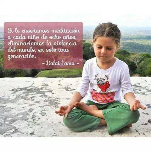 Meditación para niños.