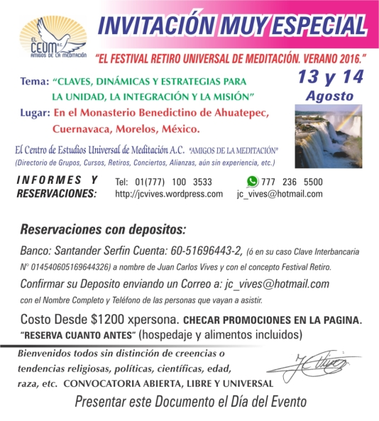 cartel invitacin especial festival de verano 2016