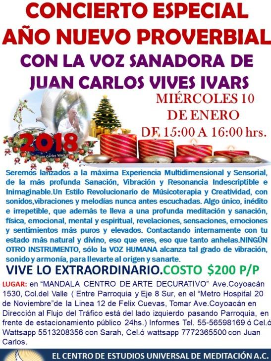 Concierto Especial 2018 Mandala.