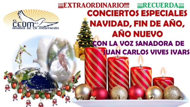 EXTRAORDINARIO CONCIERTOS NAVIDAD, FIN DE AÑO Y AÑO NUEVO